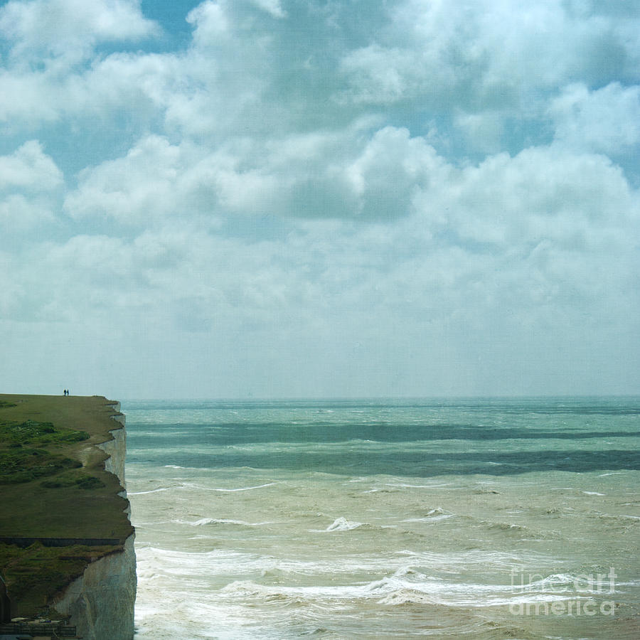 The Waves Bellow Us Photograph  - The Waves Bellow Us Fine Art Print