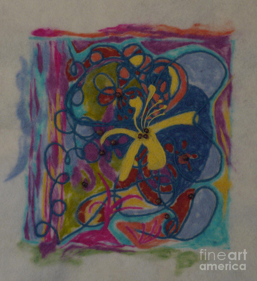 Colorful Painting - The Way Of The World by Heather Hennick