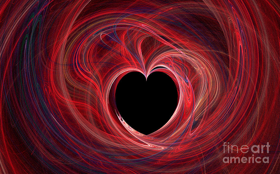 The Way To My Heart Digital Art  - The Way To My Heart Fine Art Print