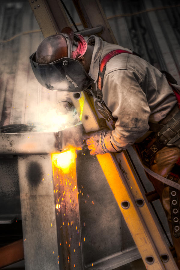 The Welder Photograph