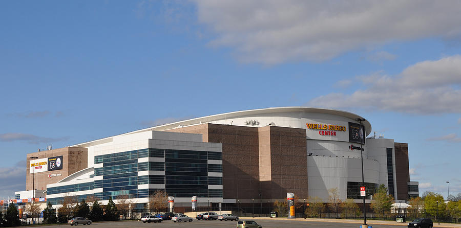 The Wells Fargo Center - Philadelphia  Photograph  - The Wells Fargo Center - Philadelphia  Fine Art Print