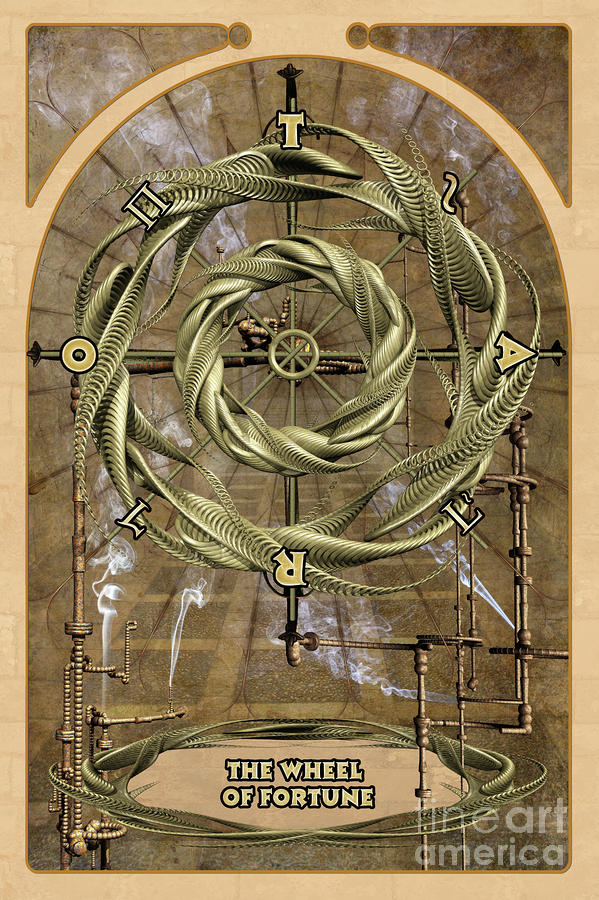The Wheel Of Fortune Digital Art  - The Wheel Of Fortune Fine Art Print