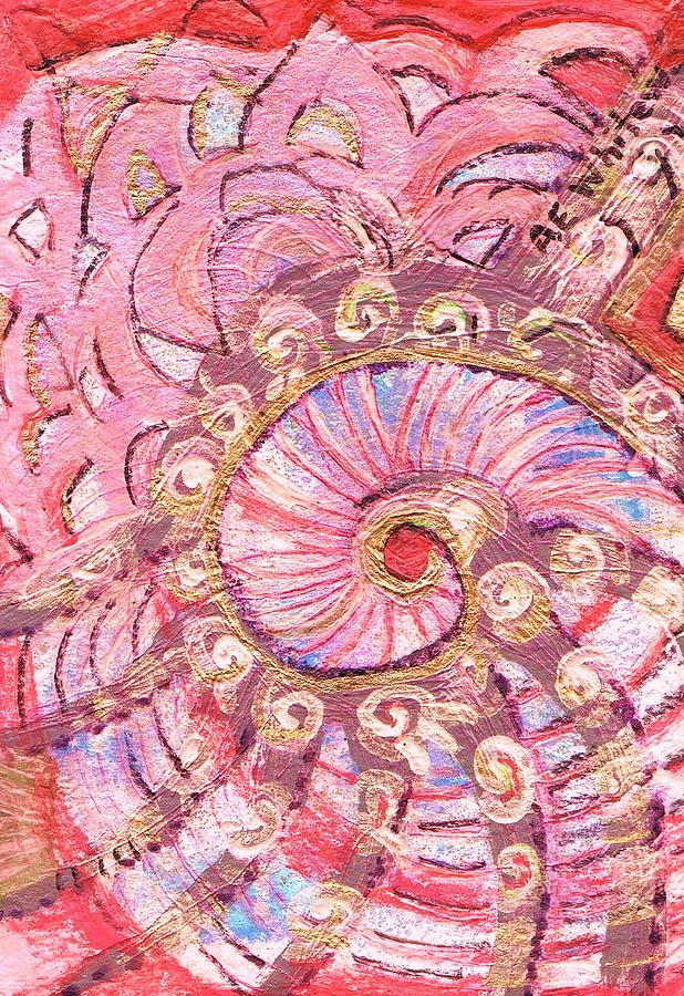 The Whirling Shell  Painting
