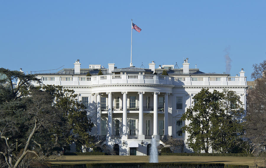 The White House - 1600 Pennsylvania Avenue Washington Dc Photograph