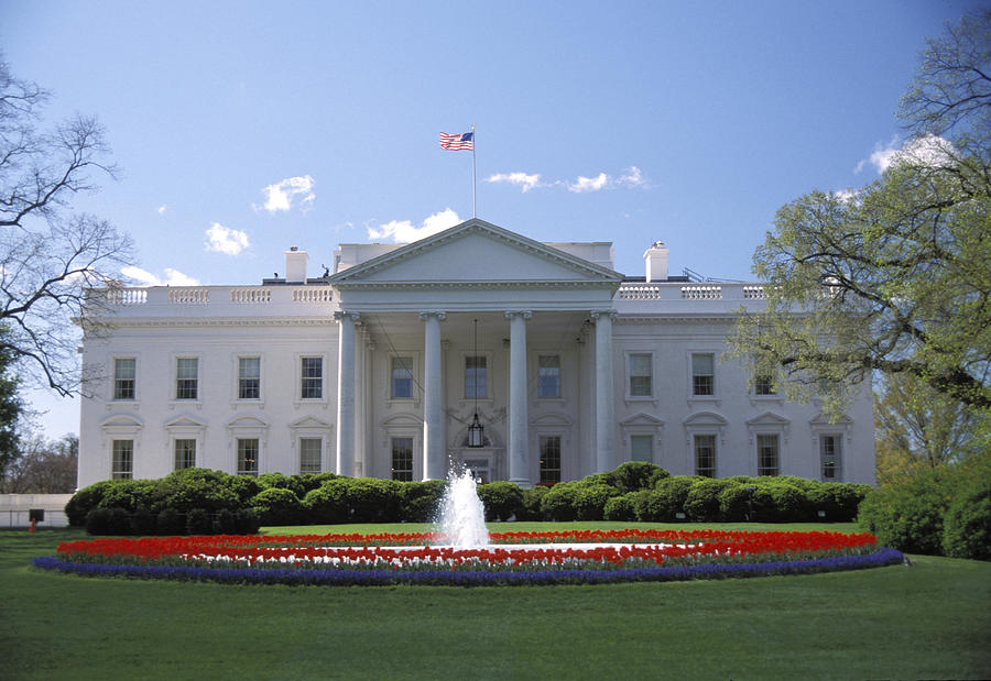 The White House In Washington, Dc Photograph