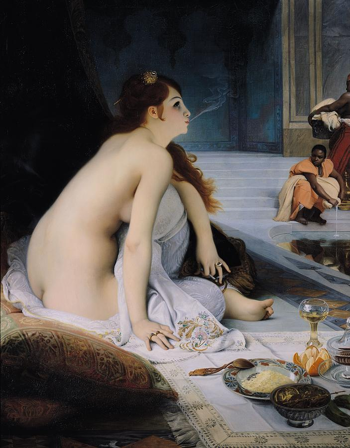 The White Slave Painting