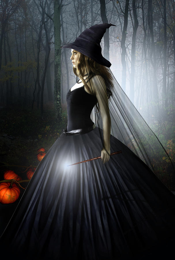 The Witching Hour Digital Art  - The Witching Hour Fine Art Print