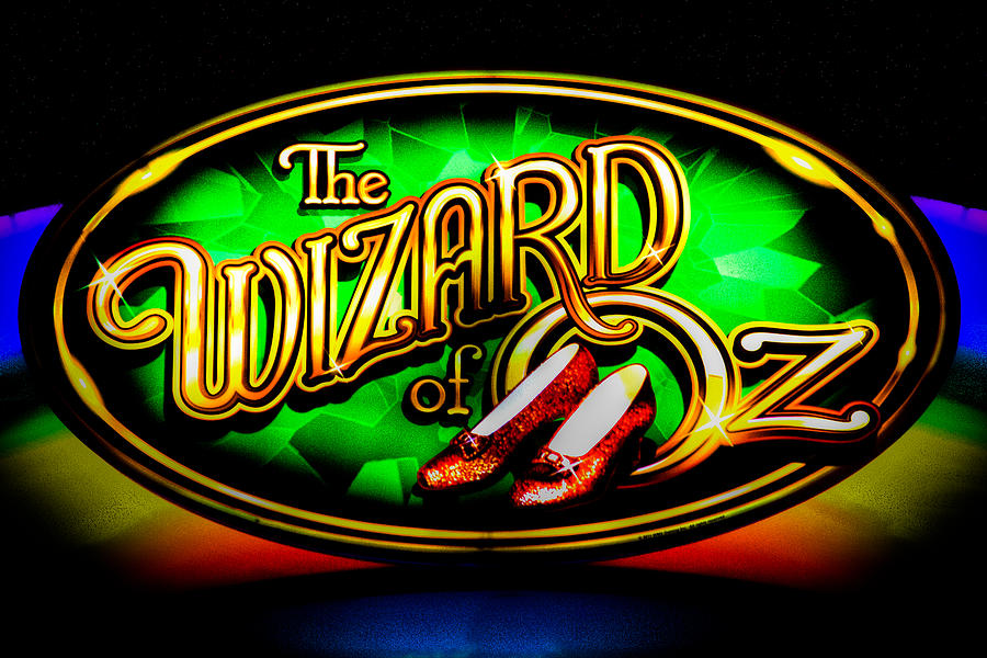 The Wizard Of Oz Casino Sign Photograph  - The Wizard Of Oz Casino Sign Fine Art Print