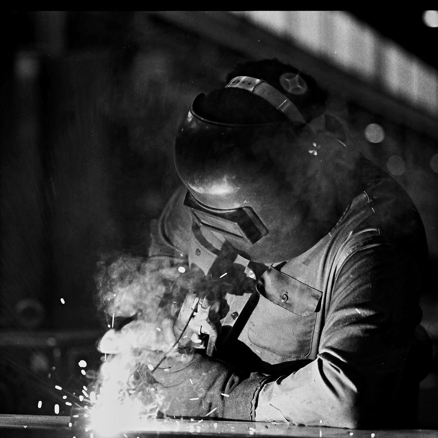 The Working Man Photograph
