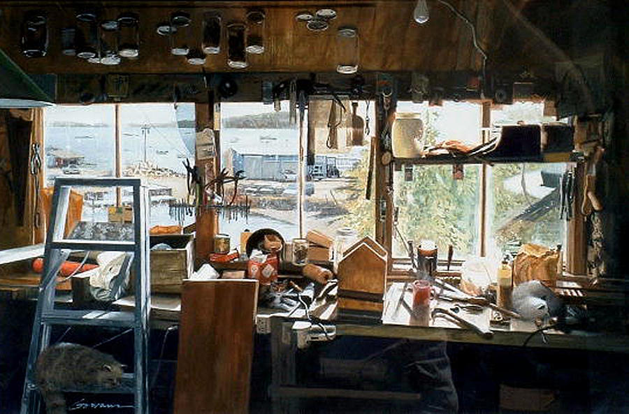 The Workshop Painting