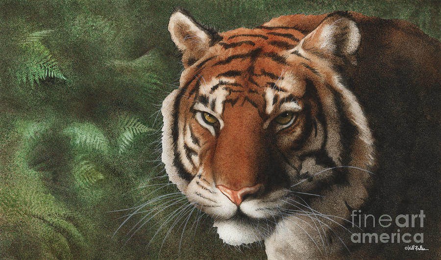 The Year Of The Tiger 2010... Painting  - The Year Of The Tiger 2010... Fine Art Print
