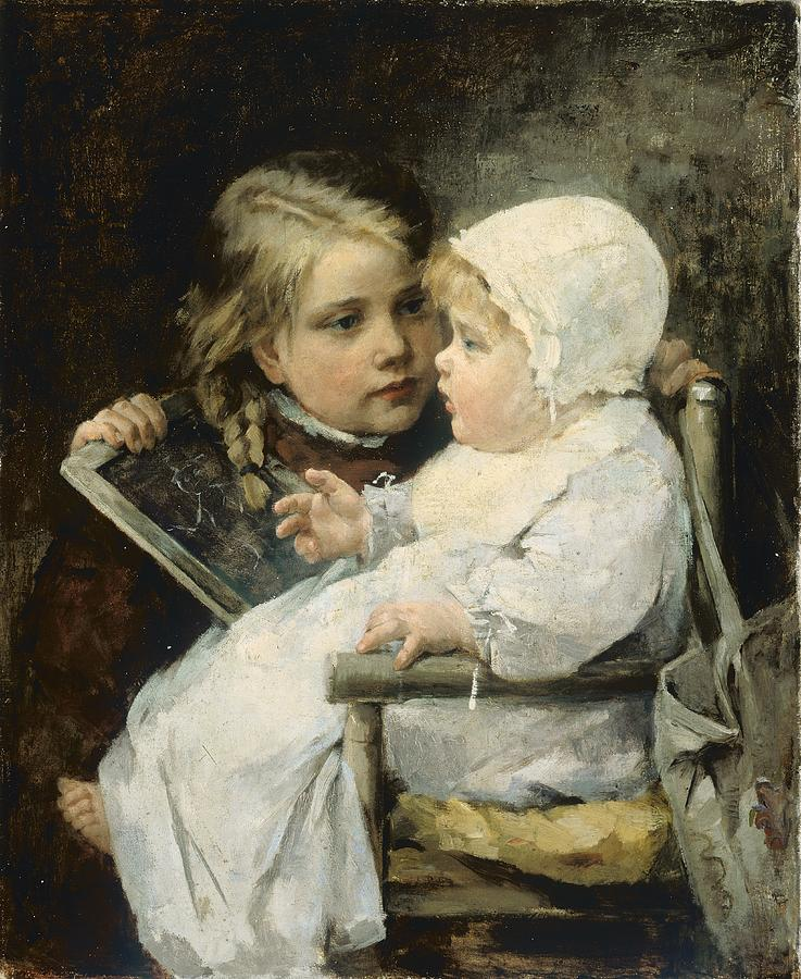 The Young Artist Painting