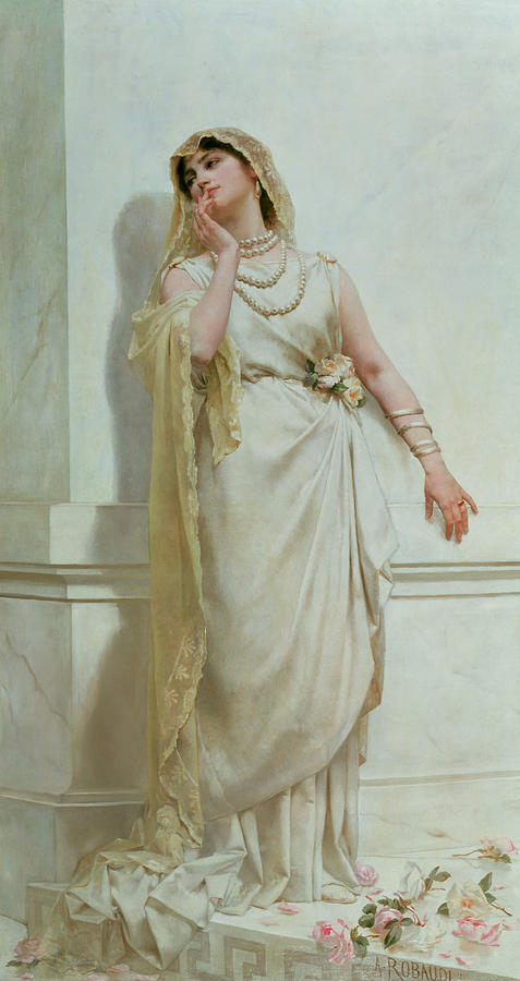 The Young Bride Painting