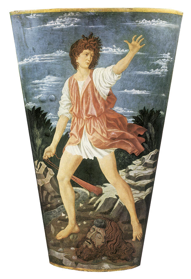 The Young David PaintingDavid Castagno