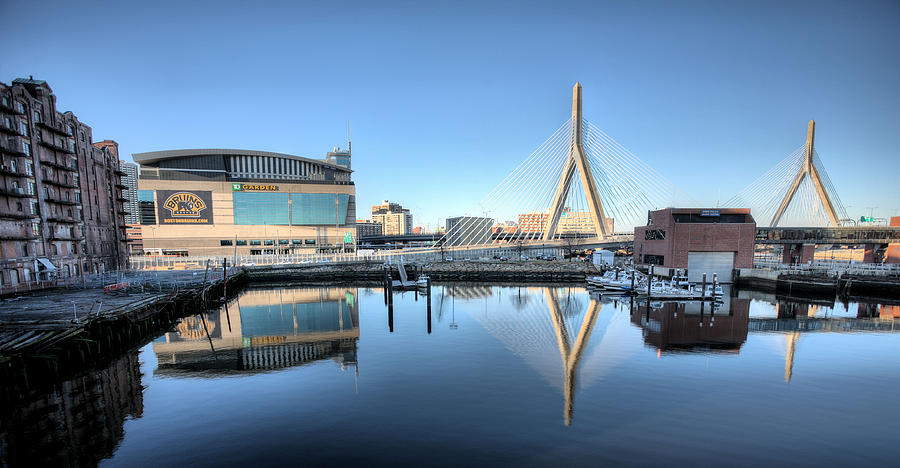 The Zakim Photograph  - The Zakim Fine Art Print