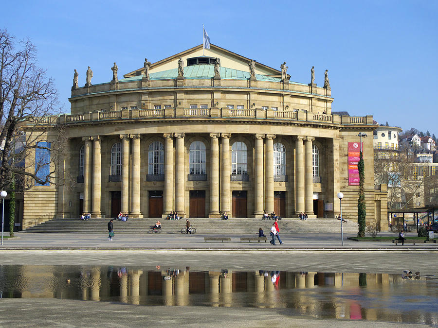 Theater And Opera Building Stuttgart Germany Photograph By