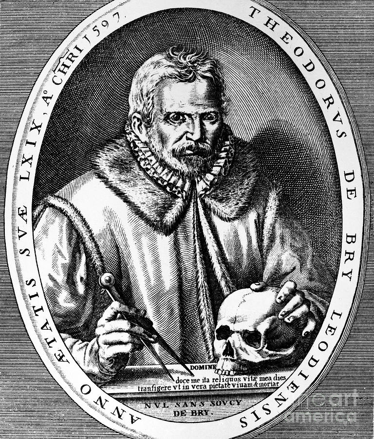Theodor De Bry (1528-1598) Photograph