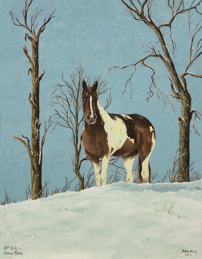 Paint Horse Paintings Painting - There Is A Season by Mary Ann King
