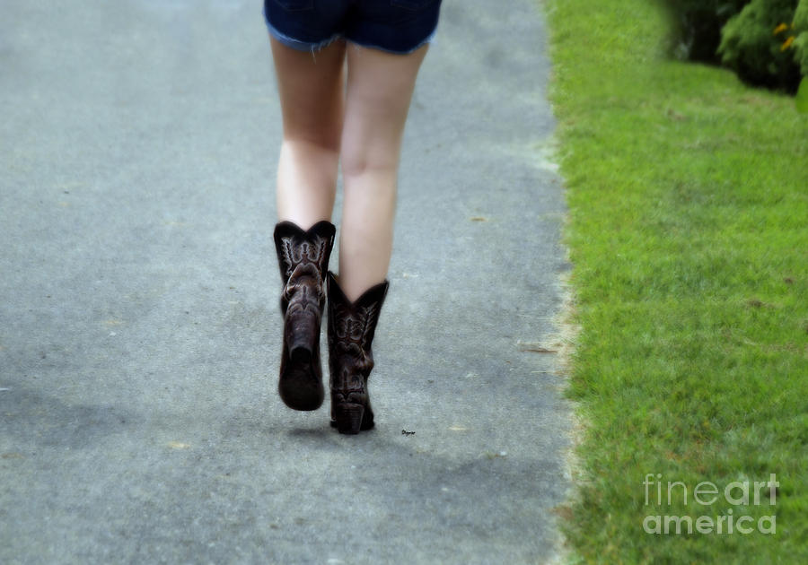 These Boots Are Made For Walking Photograph  - These Boots Are Made For Walking Fine Art Print