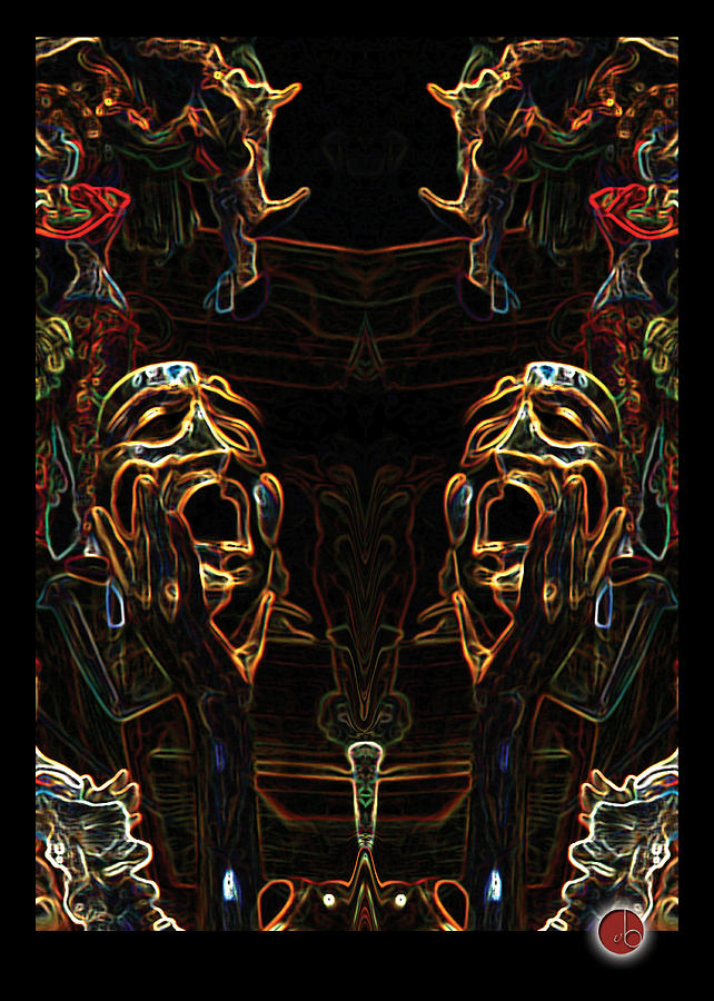 Theyre All Gonna Laugh At You... Digital Art  - Theyre All Gonna Laugh At You... Fine Art Print