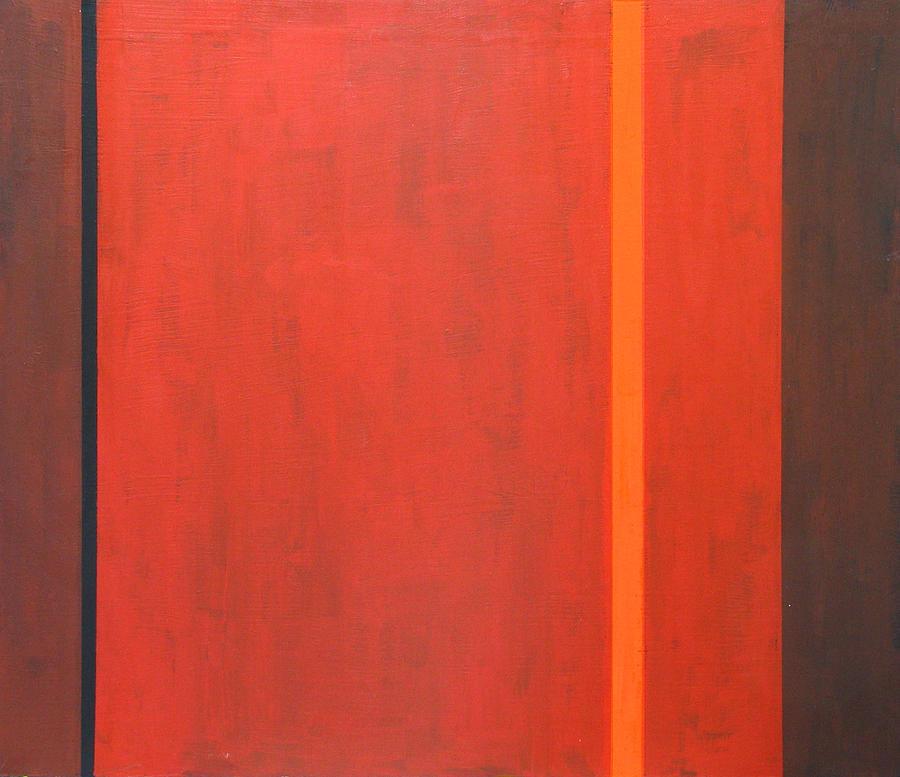 Thin Orange Band Painting