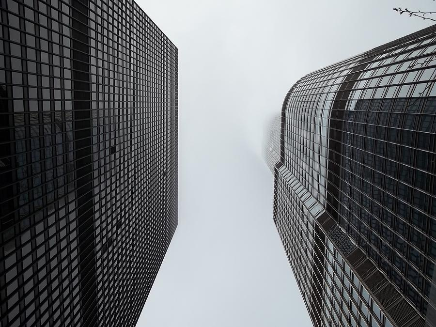 Things Are Looking Up In Chicago Photograph  - Things Are Looking Up In Chicago Fine Art Print