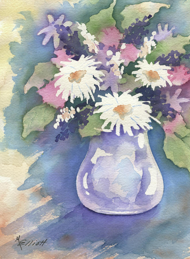 Think Spring Painting  - Think Spring Fine Art Print