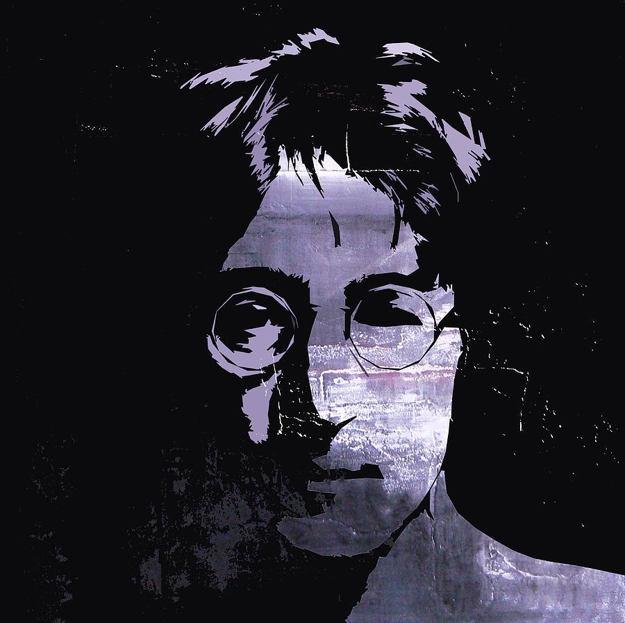 John Lennon Dreamer Not The Only One Beatle Beatles Song Songwriter Dream Digital Art - Thinking About Love  by Steve K
