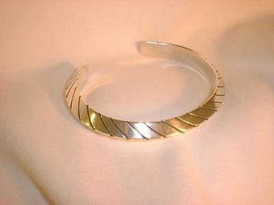 This Heavy Gauge Triangular Silver Bracelet Is Offered In Three Sizes Jewelry