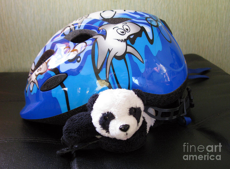 This Helmet Is So Heavy Ugh Photograph  - This Helmet Is So Heavy Ugh Fine Art Print
