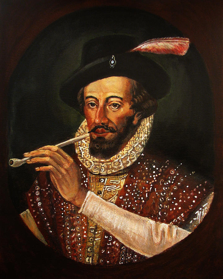 sir walter raleigh and roanoak Die erste englische siedlung (1584 bis 1586) am 27 april 1584 brachen die forscher arthur barlowe und philip amadas im auftrag von sir walter raleigh zu einer.