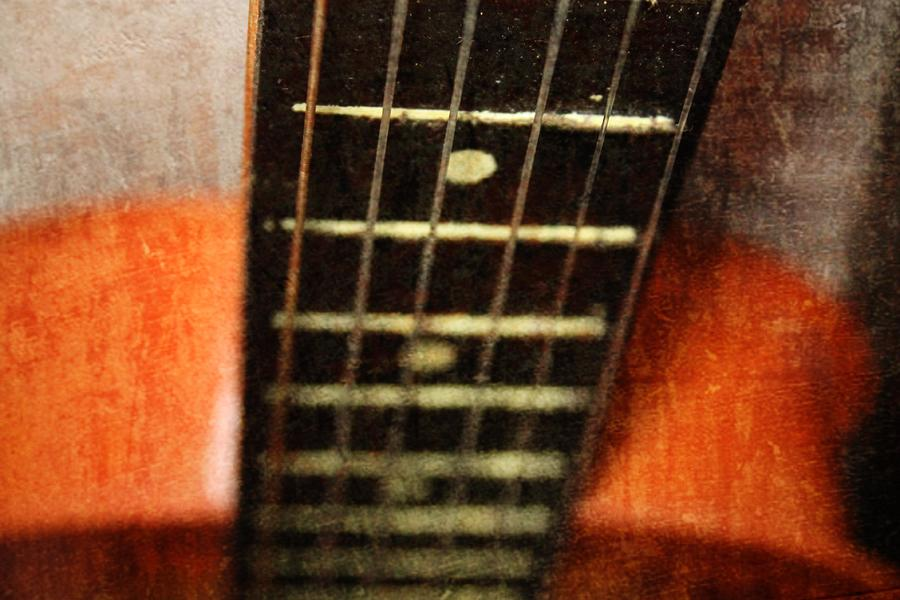 This Old Guitar Photograph  - This Old Guitar Fine Art Print