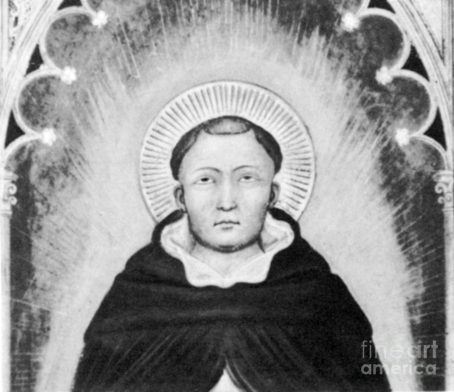 Thomas Aquinas, Italian Philosopher Photograph  - Thomas Aquinas, Italian Philosopher Fine Art Print