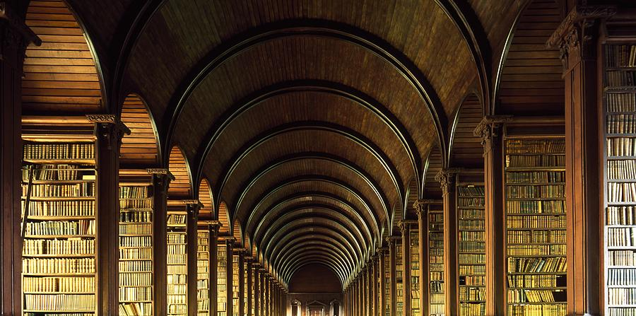 Thomas Burgh Library Trinity College Photograph By The