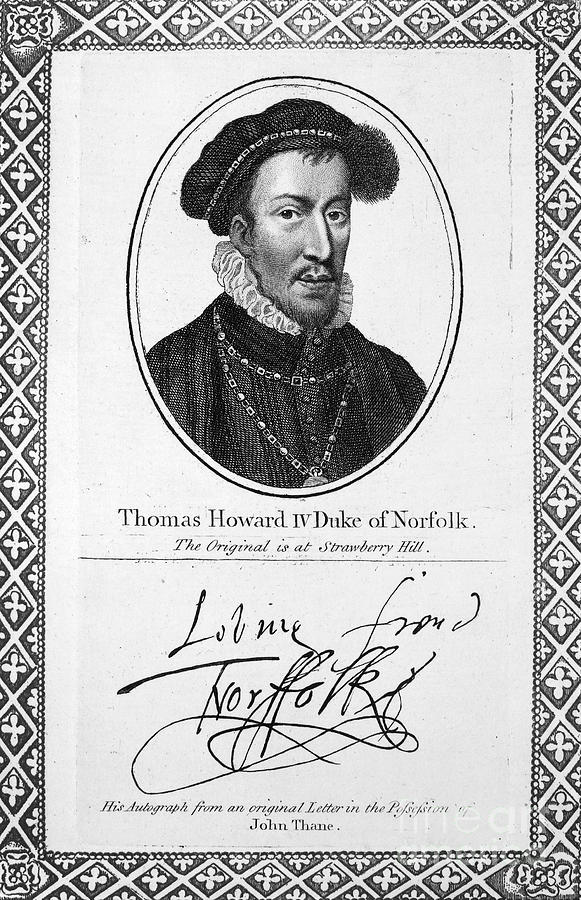 Thomas Howard (1536-1572) Photograph