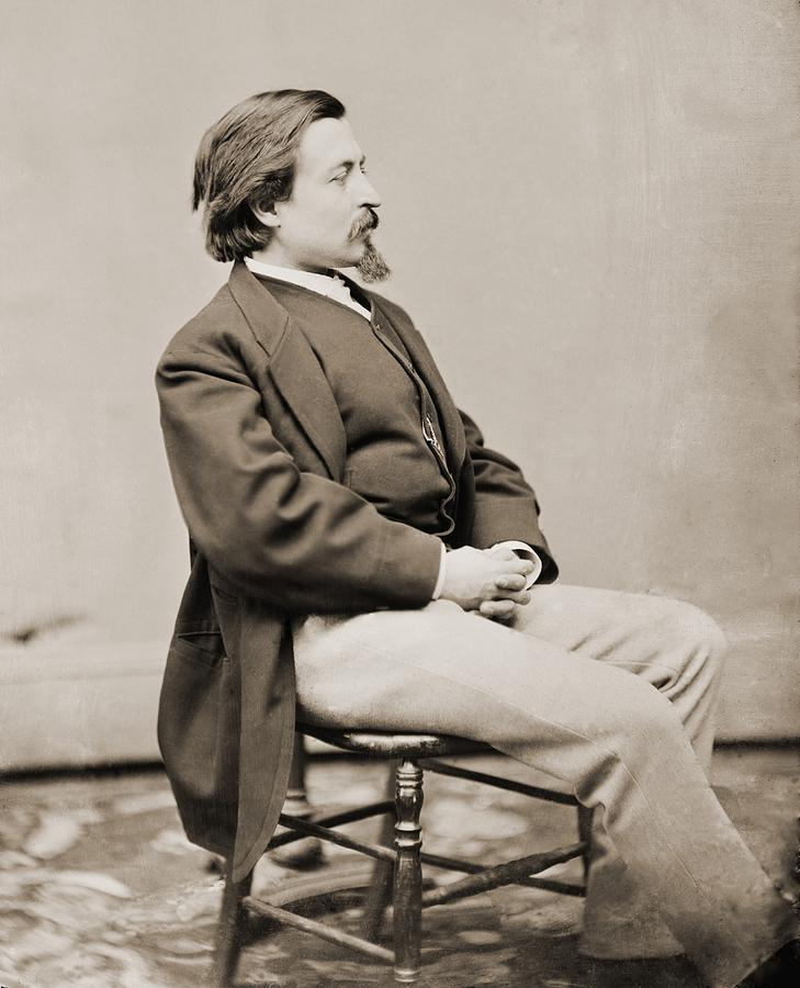 Thomas Nast 1840-1902, Created Cartoons Photograph
