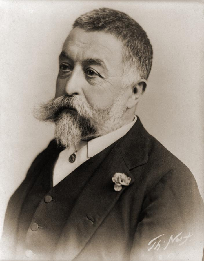 Thomas Nast 1840-1902, During His Later Photograph  - Thomas Nast 1840-1902, During His Later Fine Art Print
