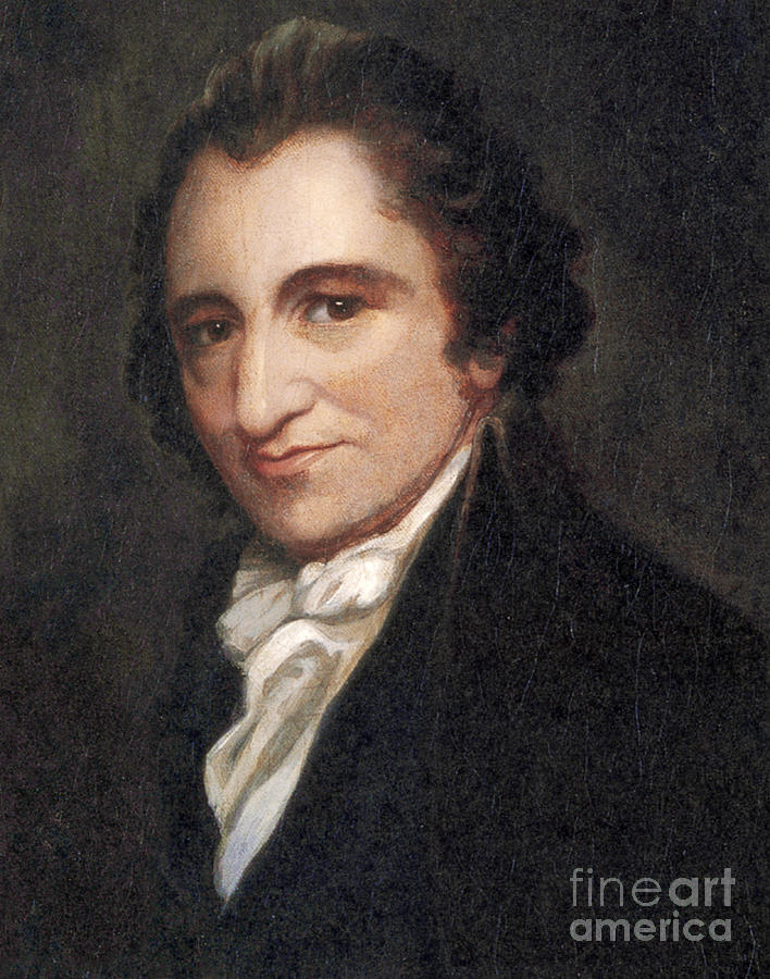 Thomas Paine, American Founding Father Photograph