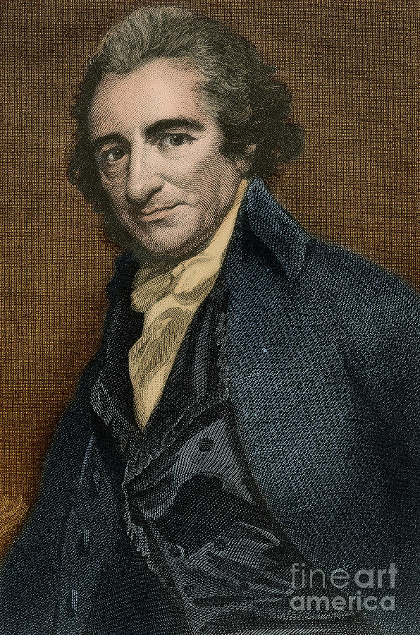 Thomas Paine, American Patriot Photograph