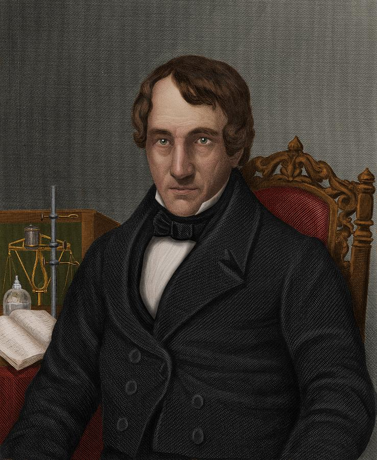 1800s Photograph - Thomas Thomson, Scottish Chemist by Maria Platt-evans