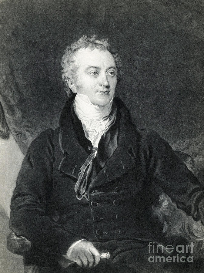 Thomas Young, English Polymath Photograph