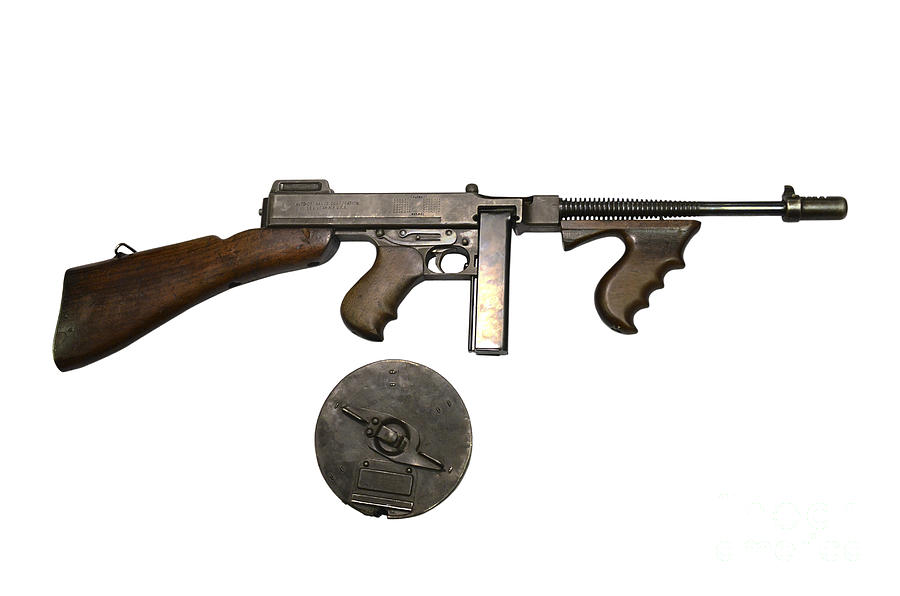 thompson machine gun parts