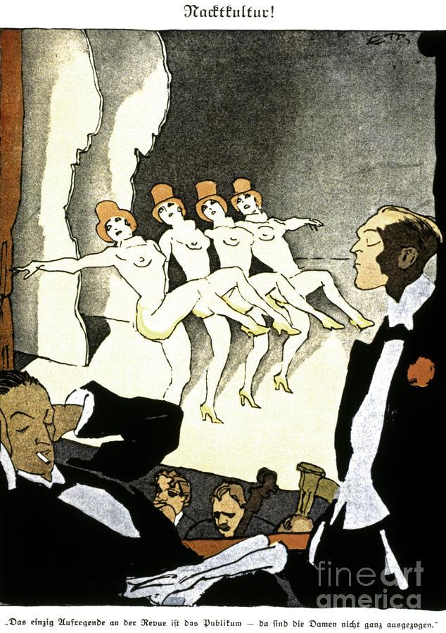 Thony: Nacktkultur, 1926 Painting
