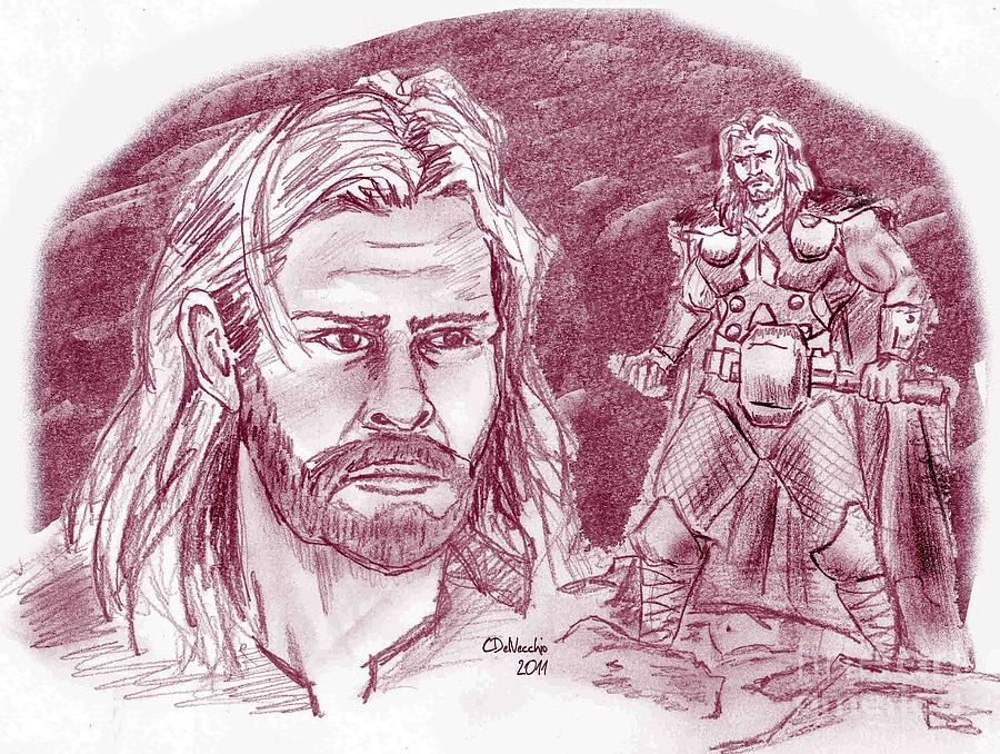 Thor Odinson Drawing