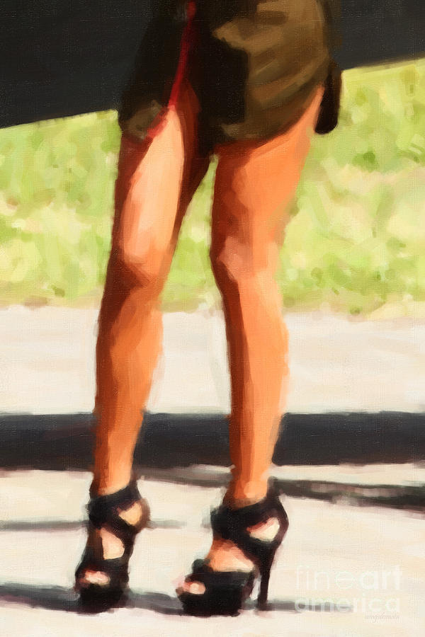 Those Legs Photograph  - Those Legs Fine Art Print