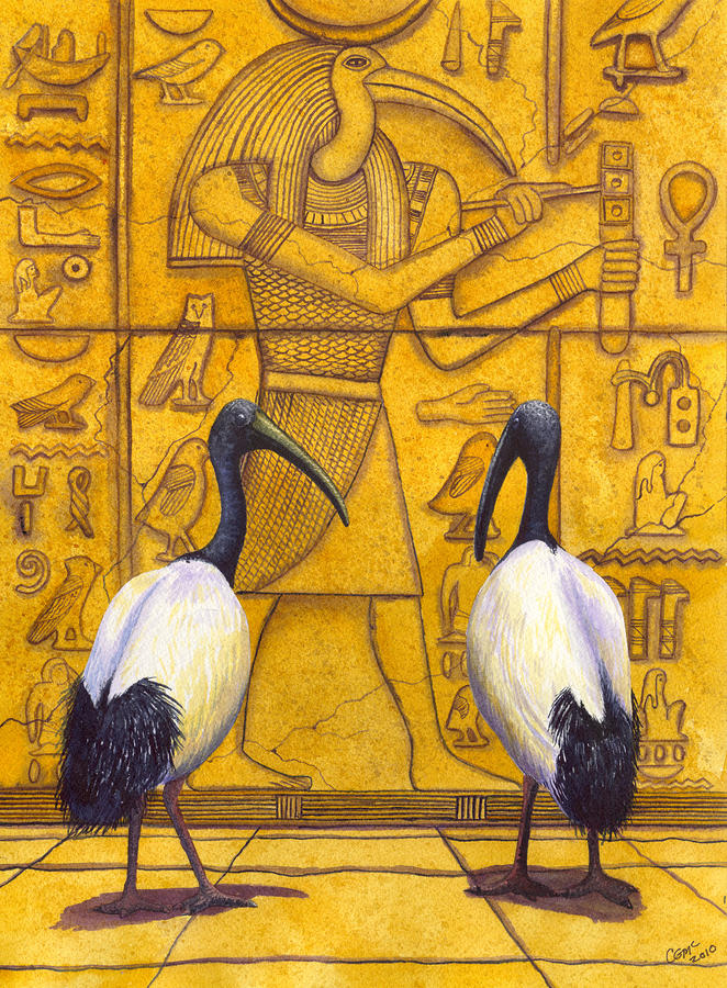 Thoth Painting  - Thoth Fine Art Print