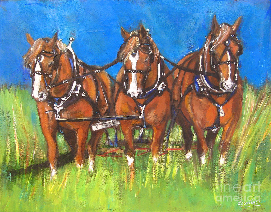Three Is Company Painting
