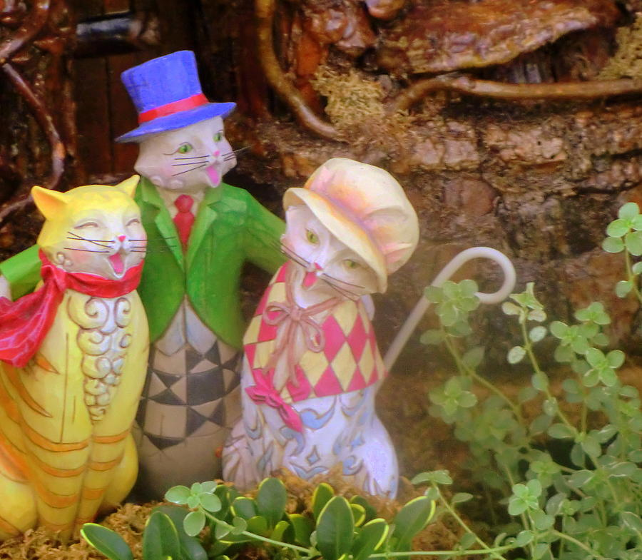 Nursery Rhyme Photograph - Three Little Kitten Who Lost Their Mittens by Mindy Newman