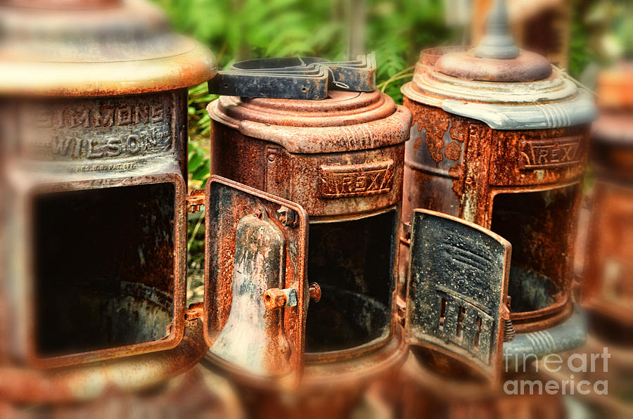 Three Stoves Photograph  - Three Stoves Fine Art Print