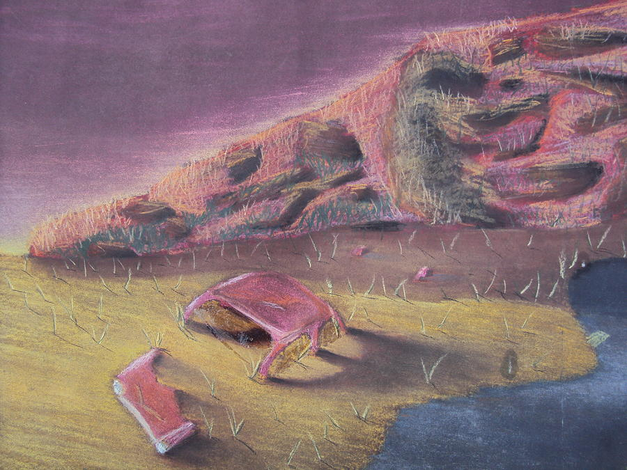 Three Thousand Miles To Graceland Pastel